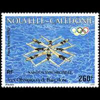 NEW CALEDONIA 1992 - Scott# C235 Olympics Set of 1 NH