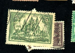 GERMANY #350 361-2 USED FVF Cat $29