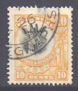 Tanganyika Scott 13 - SG90, 1925 Giraffe 10c used