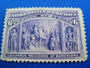 UNITED STATES,  1893   SCOTT #235 -  Used