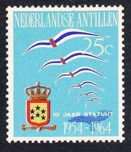 Neth. Antilles Birds 10 Years of Status SG#458