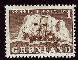 Greenland #36 Mint F-VF SCV$16.00.. Popular Country!