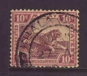 1931 FMS 10c Wmk Script F/Used