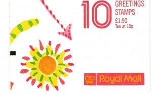 Great Britain #BK733 Complete Booklet  CV $34.00