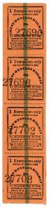 (I.B) Great Western Railway : Prepaid Newspaper Parcel (Single Newspaper)