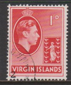 British Virgin Islands Sc#77 Used