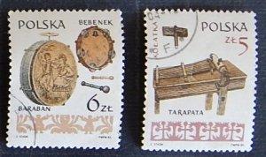 Folk musical instruments, Poland, №1162-T