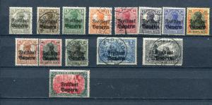 Germany 1919 Accumulation Overprint Freistaat Bayern Used 3938