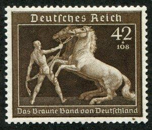 German Reich  Mi.# 699   Sc.# B145  MH*
