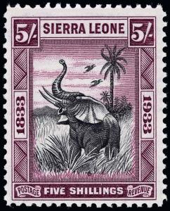 Sierra Leone Scott 163 Gibbons 178 Never Hinged Stamp