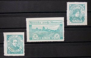 Yugoslavia Croatia Serbia Nice Selection-Early Better Poster Charity Stamps  C4