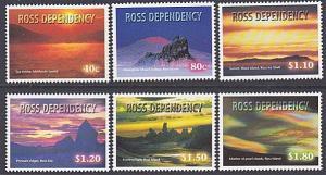 NEW ZEALAND ROSS DEPENDENCY 1999 Night Skies set MNH........................3172