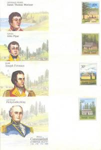 Norfolk Island Envelope lot