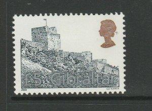 Gibraltar 2000 £5 Moorish Castle MM SG 942