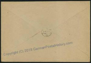3rd Reich Germany WWII Registered Heavy Arillery Column Feldpost 35614