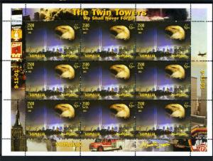 Somalia 2003 The Twin Towers Sheet (9) Perforated mnh.vf