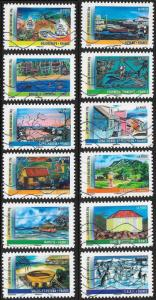 France 4127-4138 Used - ‭‭‭Year of Overseas Territories