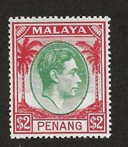 MALAYA - PENANG  SC# 21   FVF/MNH