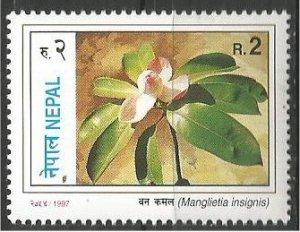NEPAL, 1997, MNH 2r, Flowers Scott 622