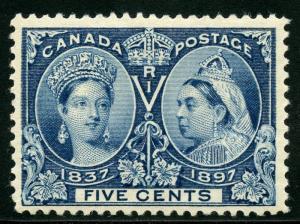 CANADA SILVER JUBILEE QUEEN VICTORIA SCOTT#54 VF/XF  MINT NH