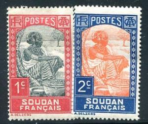 French Sudan Sc#61-2  MNH  (Fs)