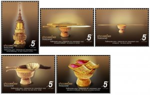 Thailand 2020 Coronation Day of King Vajiralongkorn - Insignia  (MNH)  - Art