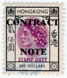 (I.B) Hong Kong Revenue : Contract Note $200