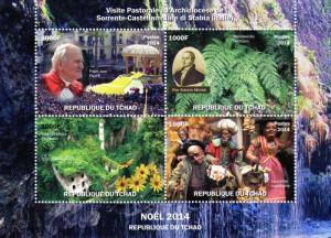 Pope John Paul II-Pier Micheli-Nativity Scene Shlt(4) Chad