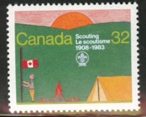 Canada Scott 993 MNH** Scouting year 1983