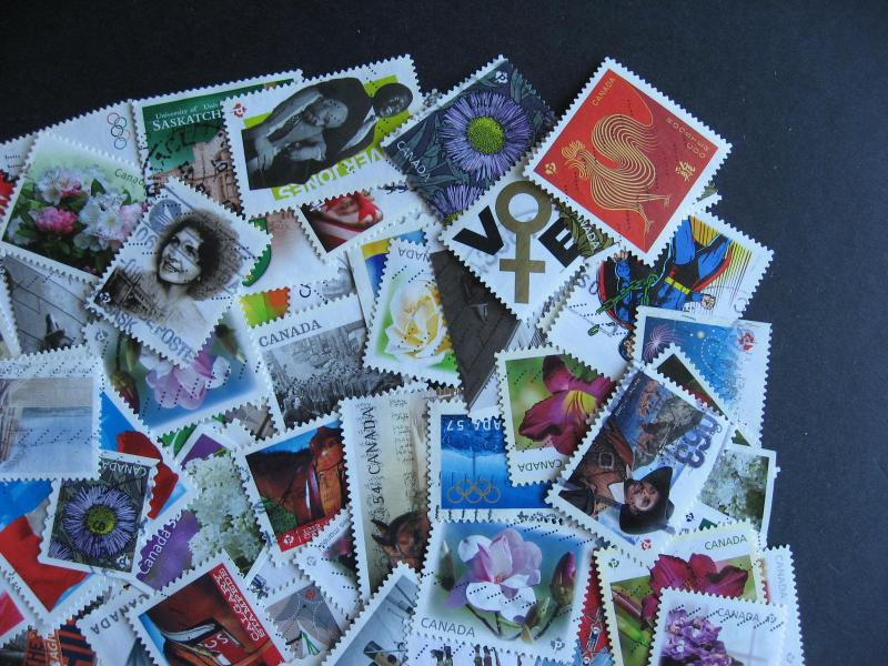 Canada elusive modern 100 U commemoratives mixture (duplicates,mixed condition)