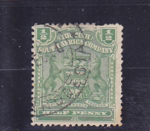 Rhodesia  Scott#  59  Used