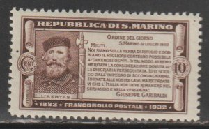 San Marino   SC  143  Mint  Hinged