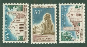 DAHOMEY 212-14 MNH CV$ 2.50 BIN$ 1.50