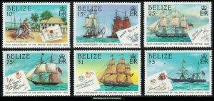 Belize Scott 765-770 Mint never hinged.