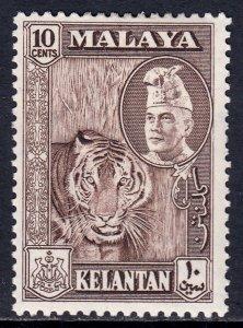 Malaya (Kelantan) - Scott #77 - MH - SCV $3.00