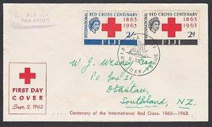 FIJI 1963 Red Cross - commem FDC ..........................................F924