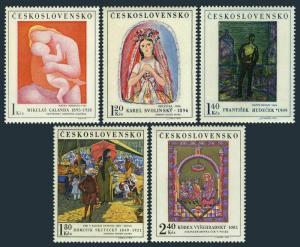 Czechoslovakia 1711-1715,MNH.Michel 1965-1969. Paintings 1970.Vysehrad Codex,