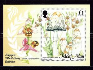 Isle of Man 655 1995 Mushrooms