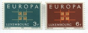 Luxembourg 1963 Europa stamps unmounted mint NH