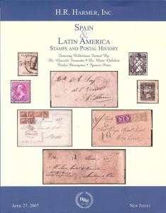 HR Harmer: Sale # 2971  -  Spain & Latin America Stamps a...