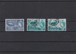 Sarawak Hornbill Bird Mint Never Hinged + Used Stamps Ref 31519