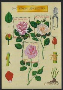 France 1999 World Old Roses S/S Sc# 2726 NH