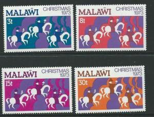 Malawi MNH 213-6 Christmas The Three Kings 1973