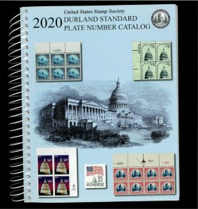 2020 United States Stamp Society Durland Standard Plate Number Catalogue