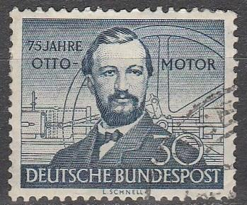 Germany #668  F-VF Used CV  $12.50  (S5983)