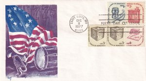 1977, American Series, Marg, FDC (E11930