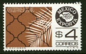 MEXICO Exporta 1119, $4P Construction Materials. Fluor Paper 7 MINT, NH. VF.