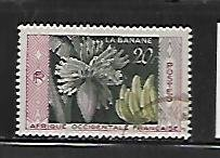 FRENCH WEST AFRICA, 78, USED, BANANAS