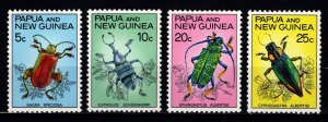 Papua New Guinea 1967 Fauna Conservation (Beetles), Set [Unused]