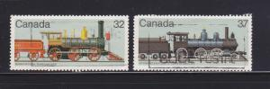 Canada 1036, 1038 U Trains, Locomotives